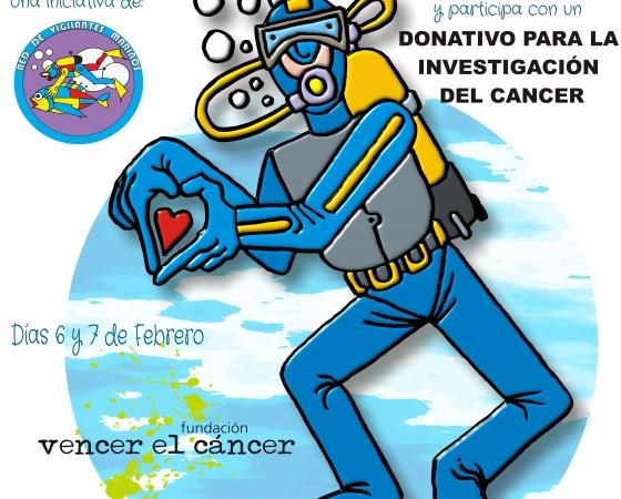 Bautizos de buceo para la lucha contra el cáncer