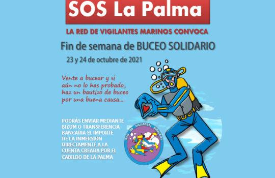 Buceo Solidario por La Palma