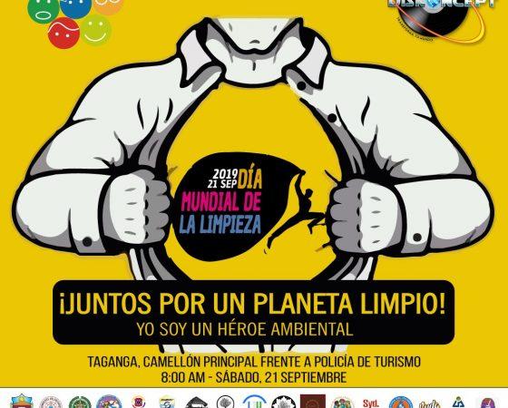 ¡Taganga se vuelve a unir al Día Mundial de Limpieza!