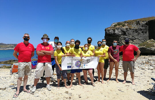 Limpieza de fondos marinos en Tarifa